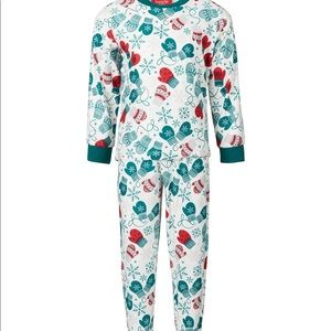 Family Christmas pjs for toddler/mitten collection